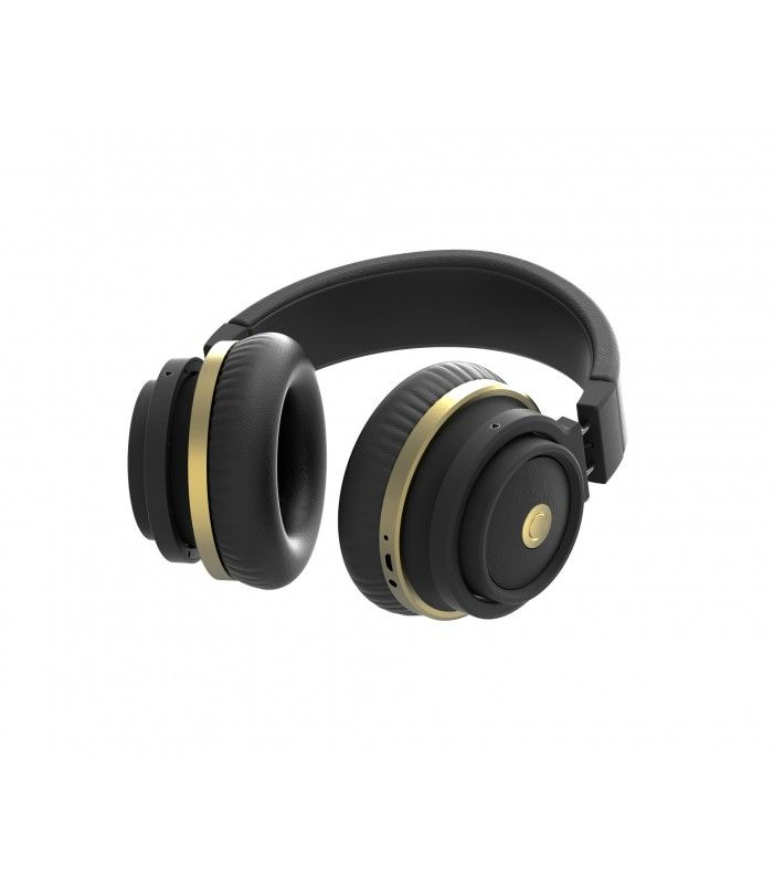 Astrum HT200 black-gold stereo bluetooth V2.1 + EDR headset with big earcups 04c40657cb