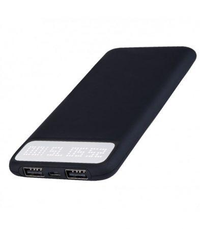 Astrum PB150 v2 gyorstöltő (QuickCharge 3.0) Power Bank 9000mAh, Li-Polymer akkucella, Dual USB 3A fekete