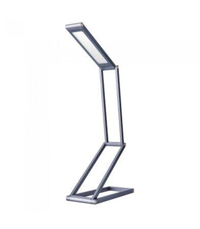 Astrum NL060 ezüst prémium asztali állítható, összecsukható aluminíum szemkímélő LED lámpa 3 különböző fényerővel