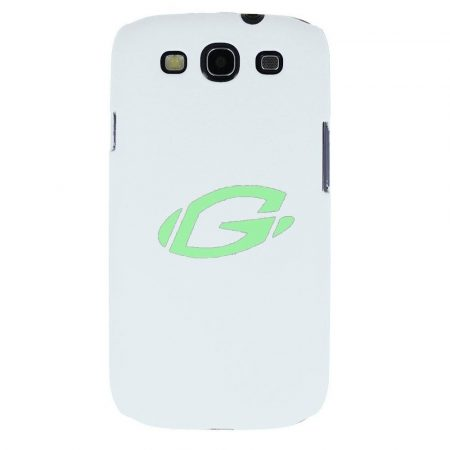Coby Samsung I9300 Galaxy S3 fehér vékony műanyag hátlapvédő