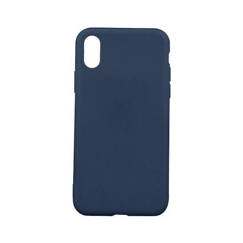 501d9b980f Apple iPhone 7 Plus / 8 Plus (5.5) sötétkék matt vékony szilikon tok ...