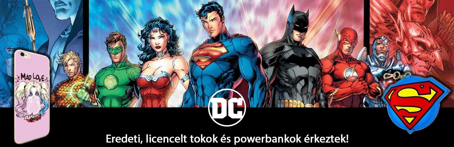 Eredeti, licencelt DC tokok és powerbankok érketek!
